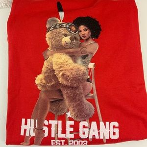 Hustle Gang Shirts - Hustle gang T-shirt red size 3XL